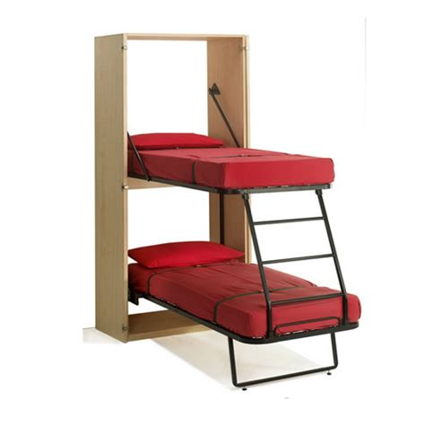 The Ledo Murphy Bunk Bed Italian Murphy Beds Bunk Beds