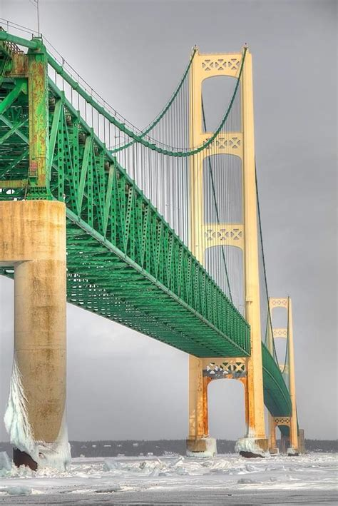 mighty mac the bridge that michigan built books 25 best ideas about mackinac bridge on lake