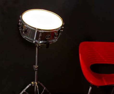 drummer home decor the drum light