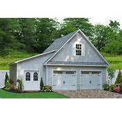 24x24 Two Car Garage With Lean To In Millersville MD  Traditional