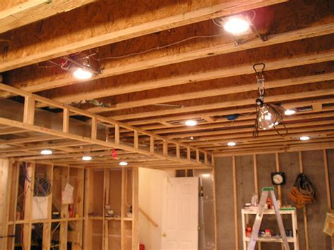 installing pot lights in basement products