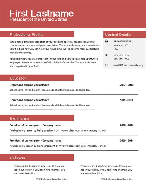 Free Resume Templates No Credit Card by Free Cv Templates For Word 604 To 610 Free Cv Template