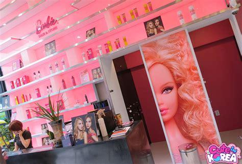 black salon seoul barbie hair salon in seoul 바비 헤어 스토어 koreabridge