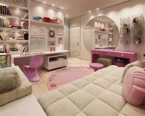 Bedroom Designs For Teenage Girls | pink teen rooms with girls bedroom darkdowdevil teen room