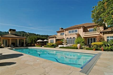 global houses listing of the day a napa valley wine estate mansion global