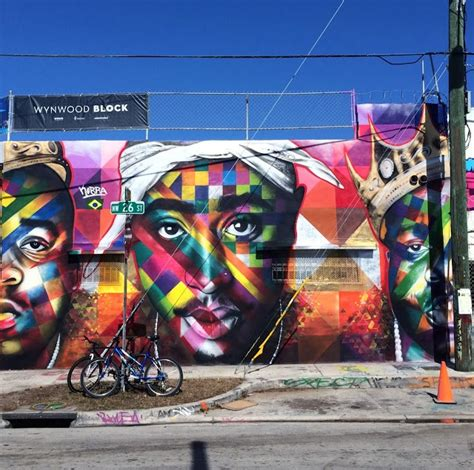 Tupac Wall Mural kobra new mural for art basel 13 wynwood miami
