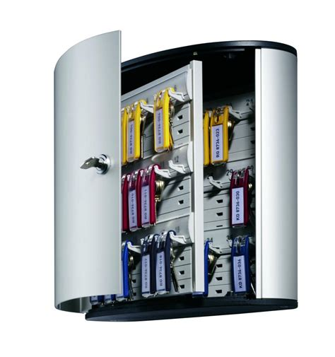 Miroir Rond Bois 3402 cutie aluminiu pentru 36 chei durable