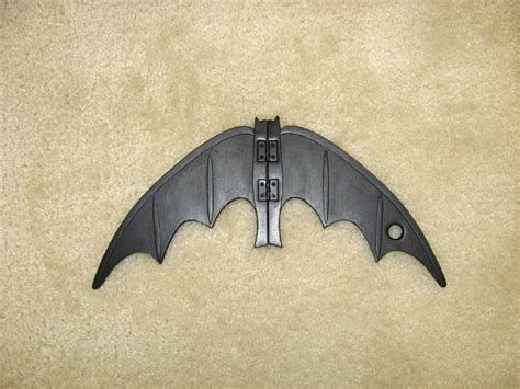 How To Make A Paper Batman Batarang - 66 batarang and pouch the foam cave