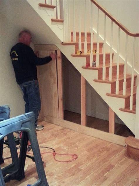 stair step storage cabinet under stair storage pinteres