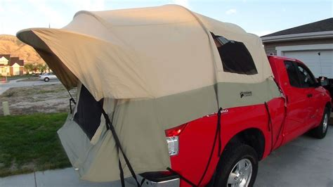 tent truck bed kodiak tent 7218 canvas truck tent for 8 foot long bed