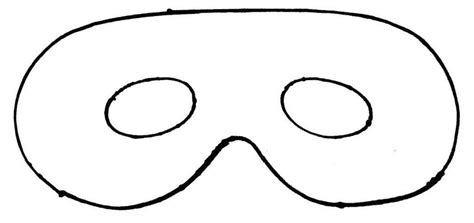 mask templates printable mask cut out template