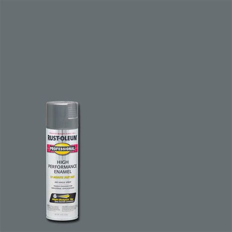 spray paint stainless steel rust oleum professional 14 oz gloss stainless steel spray