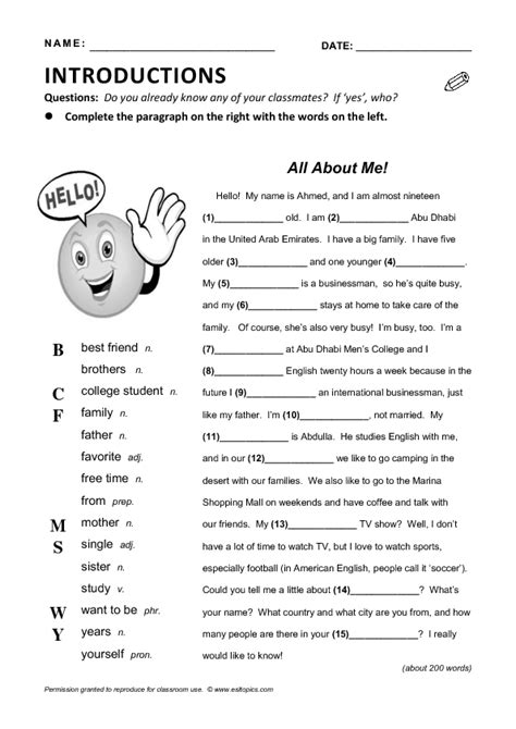 esl resume writing activity 28 images cv sle assign and grade class work esl lesson plan