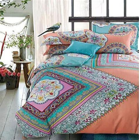 boho queen bedding lelv bohemia exotic bedding set bohemian duvet covers boho
