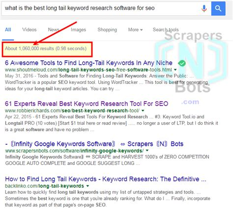 Search Results For Number number search results for keyword what is the best keyword research software for seo