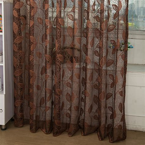 curtains see through window tulle curtain see through drape sheer room valances