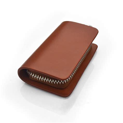 mercedes key holder cool genuine leather car key holder keychain ring bag