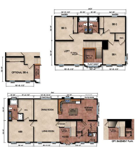 michigan home builders floor plans modular home modular homes michigan floor plans