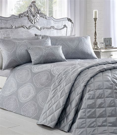 Bedding The Range Buy Anise Shimmer Jacquard Duvet Cover Set Bedding Range Norwood Textiles