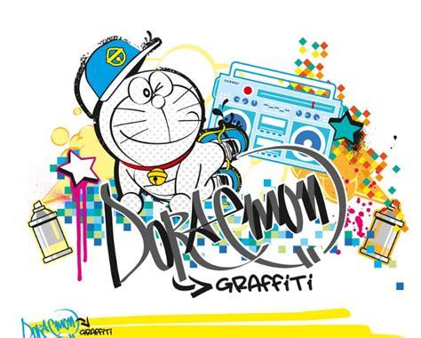 wallpaper grafiti kartun 4 gambar grafiti doraemon paling lucu dan gokil abis 2018