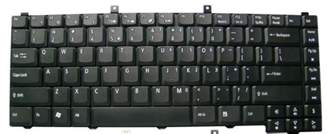 Keyboard Ori Laptop Acer acer aspire black replacement laptop