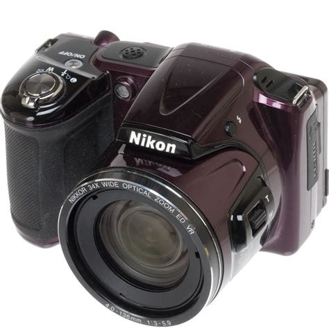 Kamera Nikon Coolpix L830 nikon coolpix l830 digital plum 26441 b h photo