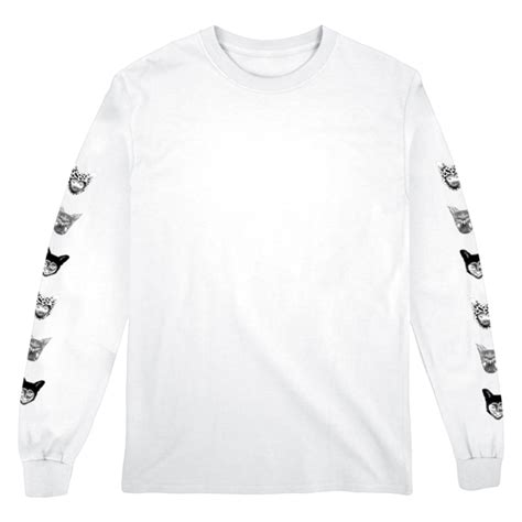 T Shirt Galantis seafox longsleeve white t shirt galantis