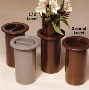 Metal Vases For Graves Thrifty Flower Vase For Your Loved One S Graveside Flowers