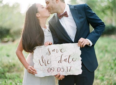 Ideas For Photos | the cutest travel themed engagement ideas bowtie and