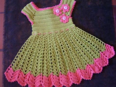 vestidos para nias con tejido vestido para ni 241 a de ganchillo cosas ermosas tejidas a