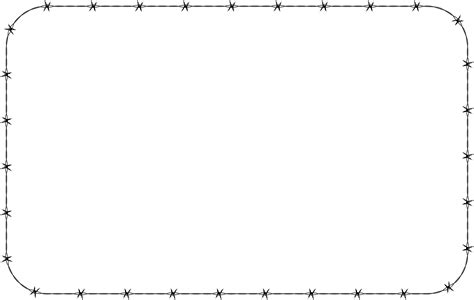 Rectangle Outline Clip by Rounded Rectangle Clipart 46
