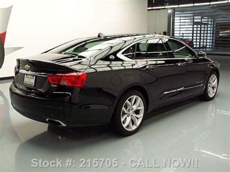 chevy impala sunroof sell used 2014 chevy impala ltz pano sunroof rear 19 s