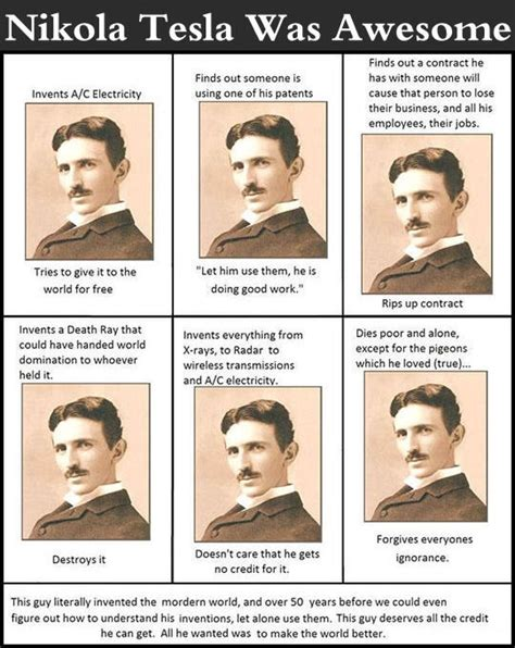 Tesla Is Awesome Nikola Tesla Was Awesome Pictures Photos And Images For
