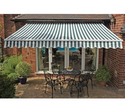 argos patio awnings buy greenhurst henley garden awning 3 5m at argos co uk