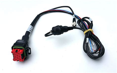 Kabel Data Link Ecu Apitech aim mxs strada 5 quot color tft dashboard uit voorraad leverbaar bij aim datalogger laptimer