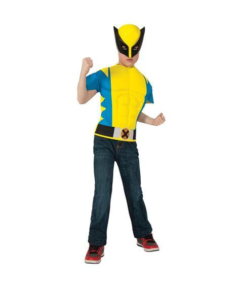 thor boys t shirt boys costume kit boy s world book day fancy dress costumes mega fancy dress wolverine boys costume shirt boys costume