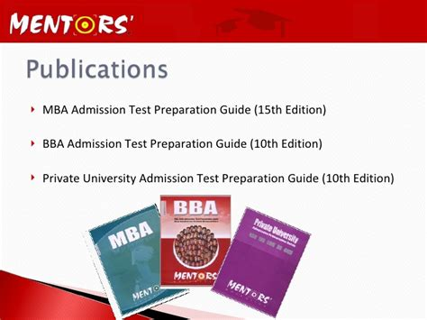 Mba Admission Test Preparation Guide 15th Edition Pdf by Mentors Education Company Profile