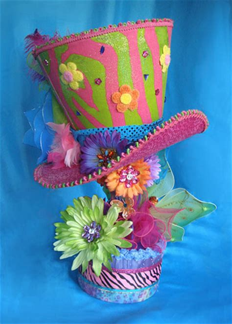 giant mad hatter centerpiece flickr photo sharing