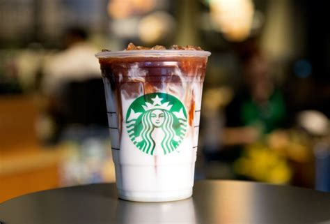 Starbucks Handcrafted Espresso Beverage - starbucks iced espresso beverage with coconut milk