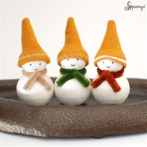 diy christmas decorations homemade snowman ornaments