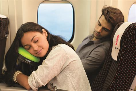 Pillow For Airplane Travel by The Kooshy Travel Pillow 187 Gadget Flow