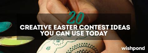 Creative Sweepstakes Ideas - 20 creative easter contest ideas you can use today