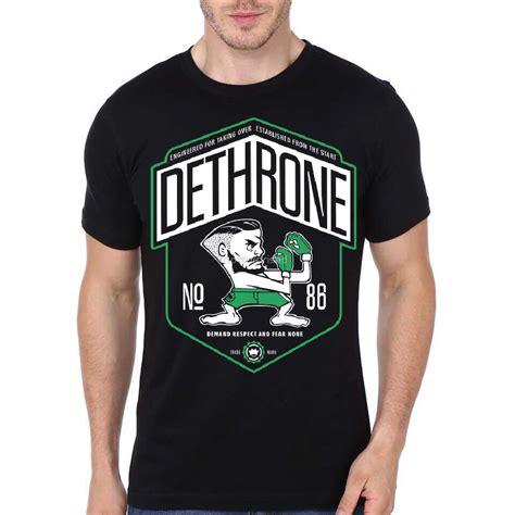 dethrone no 86 black t shirt swag shirts