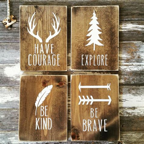rustic country home decor woodland nursery decor rustic decor cottage home decor