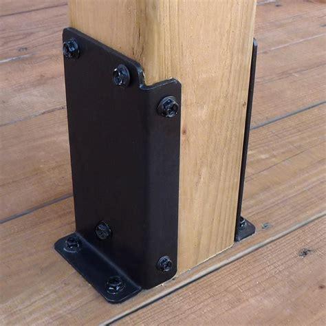pylex universal pergola post base bracket kit
