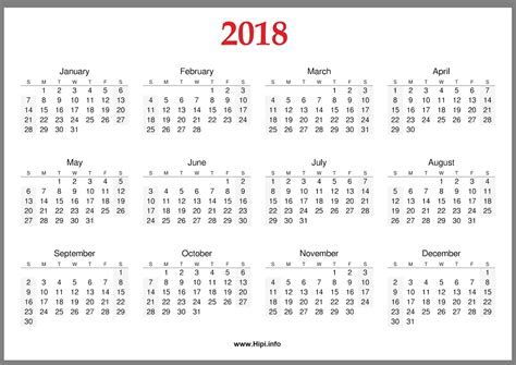 yearly monthly printable calendar printable
