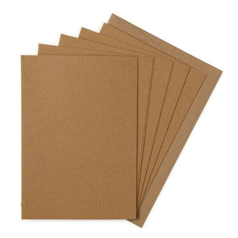 Envelopes From Paper - paperworks ribbed kraft a6 cards and envelopes pack of
