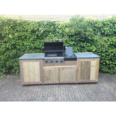 Zelf Barbecue Maken Metaal by Buitenkeuken Deurningen Buitenkeuken Steigerhout