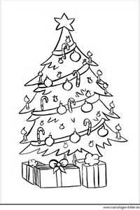 weihnachtsbaum zum ausmalen malvorlagen bilder
