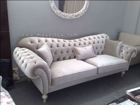 chesterfield style couch velvet chesterfield seat sofa in cream high quailty